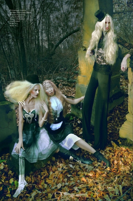 Кукольные образы в работах фотографа Армана Ливанова (Arman Livanov).