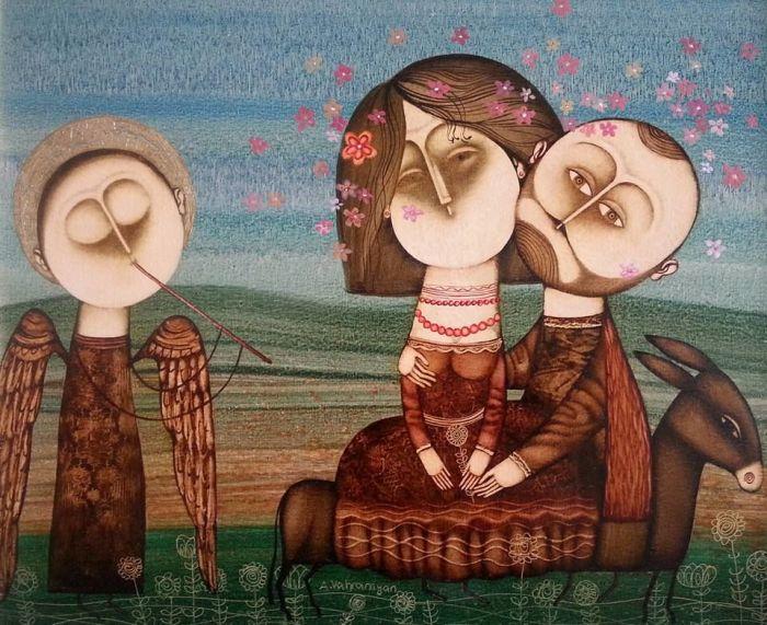 Любовь. Автор: Армен Ваграмян.