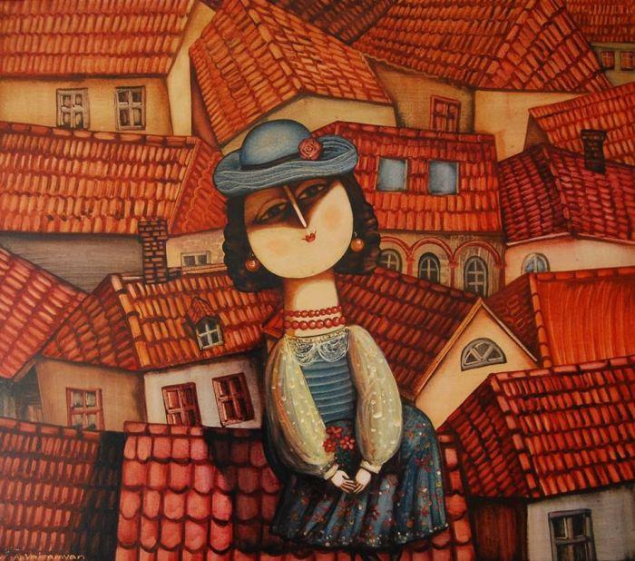Крыши. Автор: Армен Ваграмян.