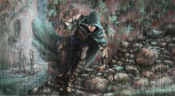 Дождь смоет следы. Сказочные работы Светланы Воробьёвой.