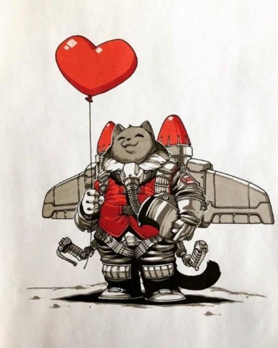 С днём Святого Валентина! Автор: Артемий Мясников.