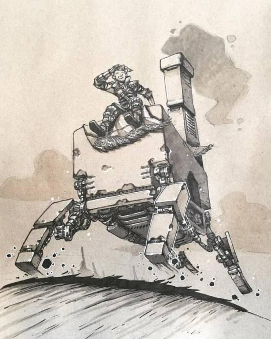 Самоходная печь — круче внедорожника. Автор: Артемий Мясников.