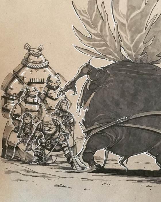 Восстание репки против дедки и бабки. Автор: Артемий Мясников.