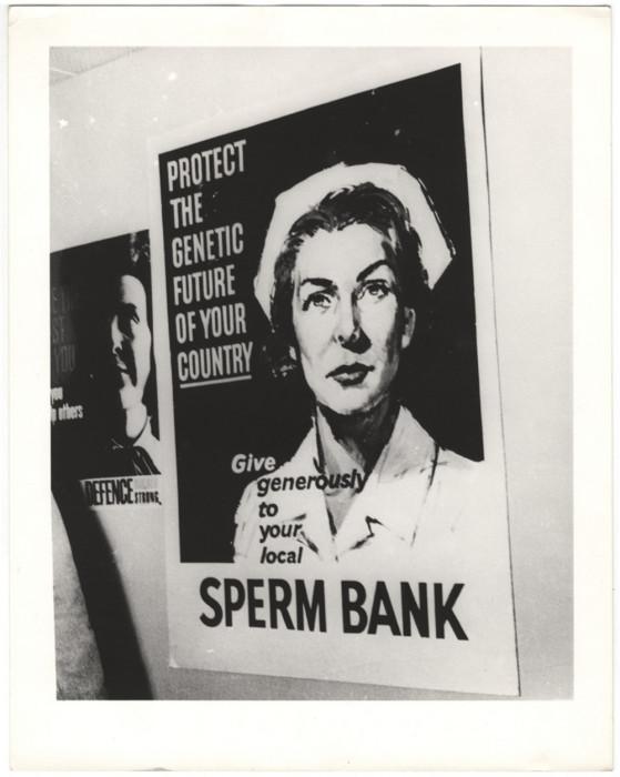 Защити генетическое будущее своей страны, щедро одари местный банк спермы, 1943 год. Автор: Arthur Fellig (Weegee).