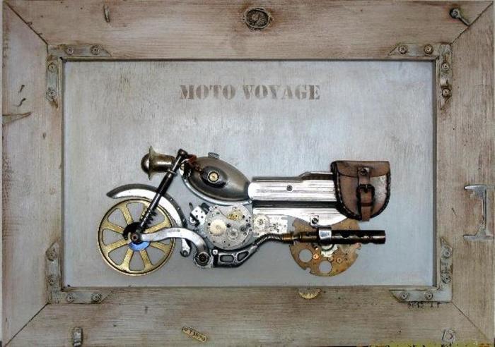 Мотоцикл. Автор: Arturas Tamasauskas.