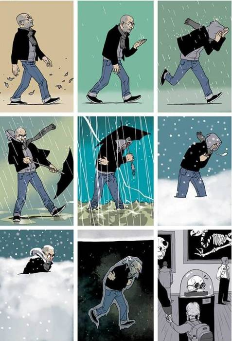 Ледниковый период. Автор: Asaf Hanuka.