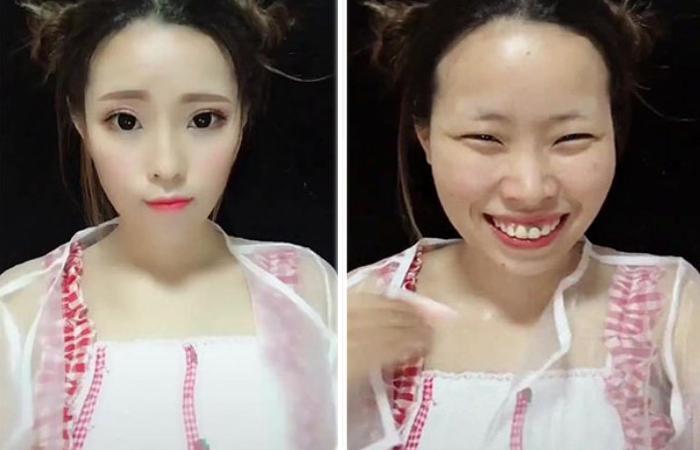 Фотографии девушек «до и после» макияжа, которые ещё раз доказывают то, что женщинам вообще нельзя верить.