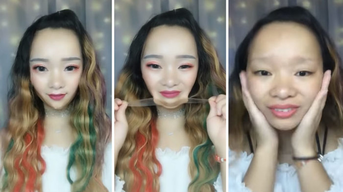 Что скажите, женский макияж — это похвальное стремление выглядеть привлекательнее, или мошенничество с отягчающими обстоятельствами?