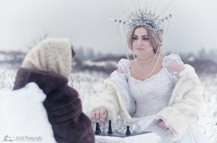 Зима. Автор: Astrid.