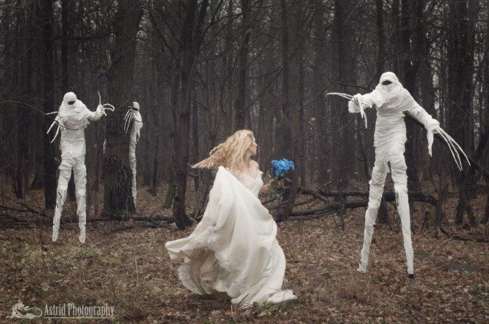 Лесные монстры. Автор: Astrid.