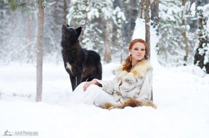 Волчица. Автор: Astrid.