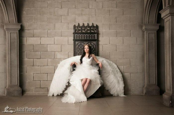 Девушка-ангел. Автор: Astrid.
