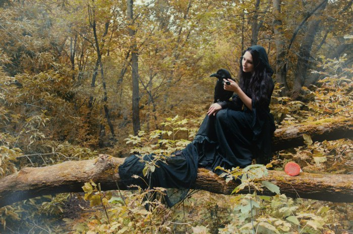 Осенняя колдунья. Автор: Astrid.