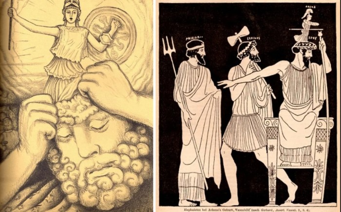 Афина - любимая дочь Зевса. \ Фото: google.com.