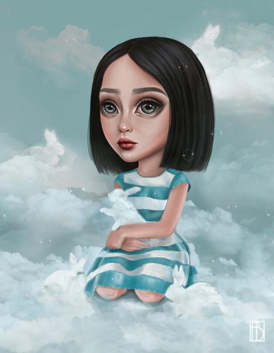 Тёплые облака. Автор: Aya Bitik.