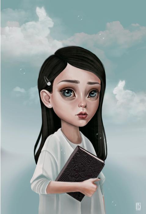 Рассказчик. Автор: Aya Bitik.