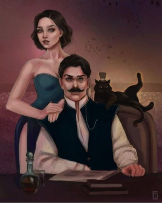 Мастер и Маргарита. Автор: Aya Bitik.