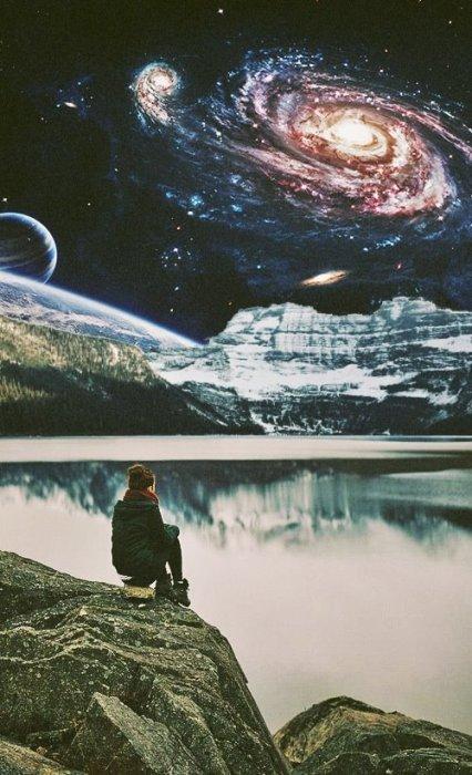 Мечтая о космосе. Автор: Ayham Jabr.