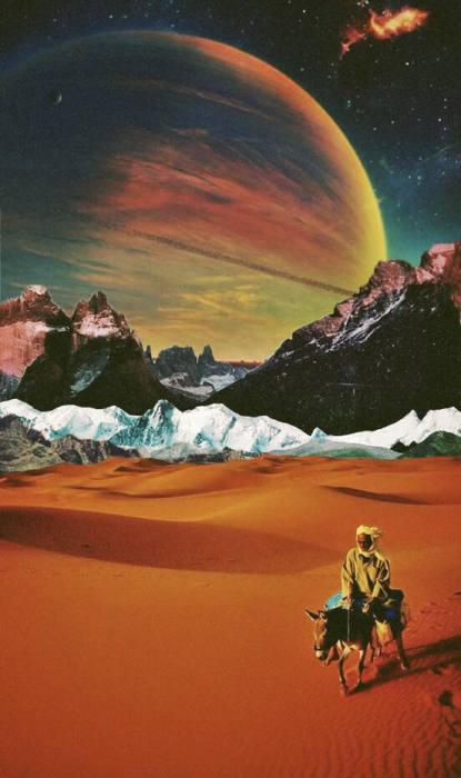 Покидая пустыню. Автор: Ayham Jabr.