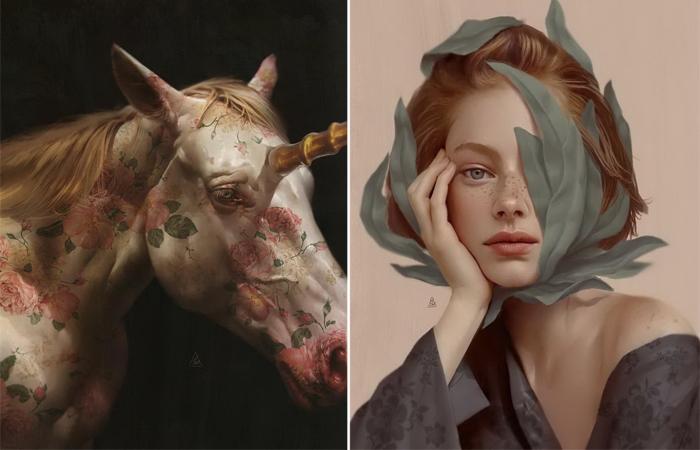 Чувственный сюрреализм турецкого художника Айкута Айдогду.