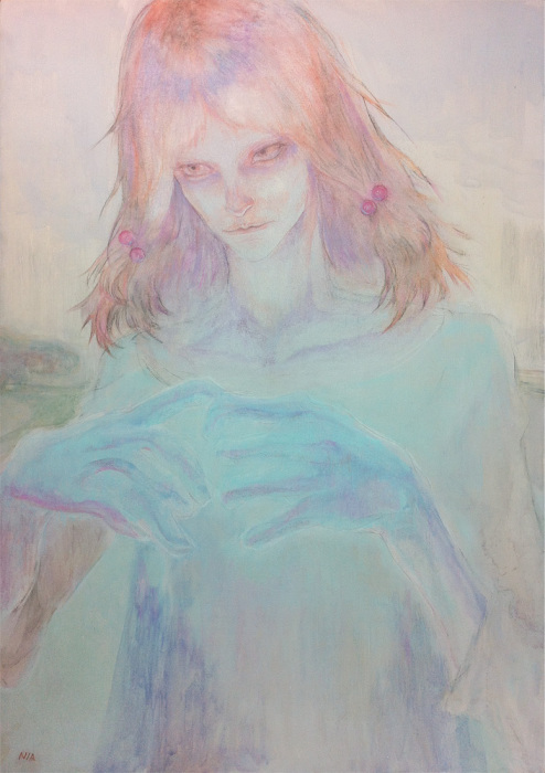 Автор работы Аю Наката (Ayu Nakata).