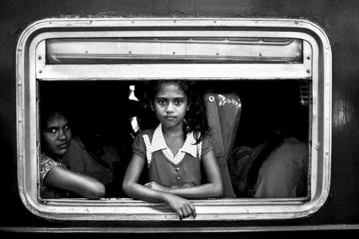 1 место: «Девочка в поезде». Автор фото: Марсел Колясек, Чехия.