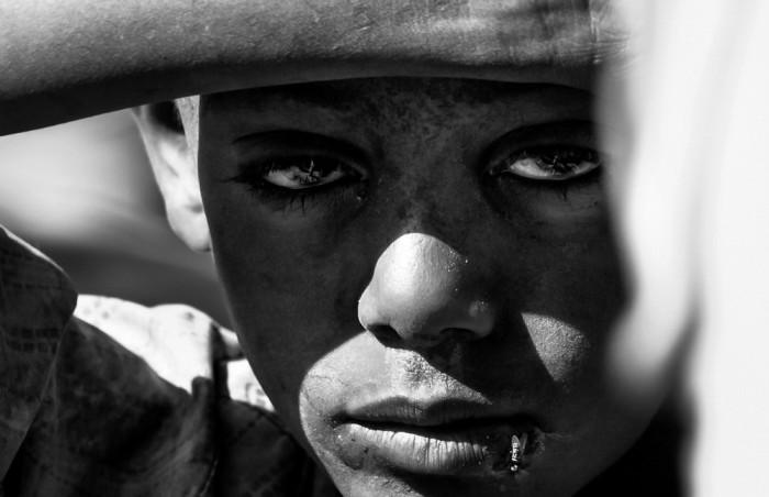 3 место: «Эфиопское детство». Автор фото: Симоне Франческангели, Италия.