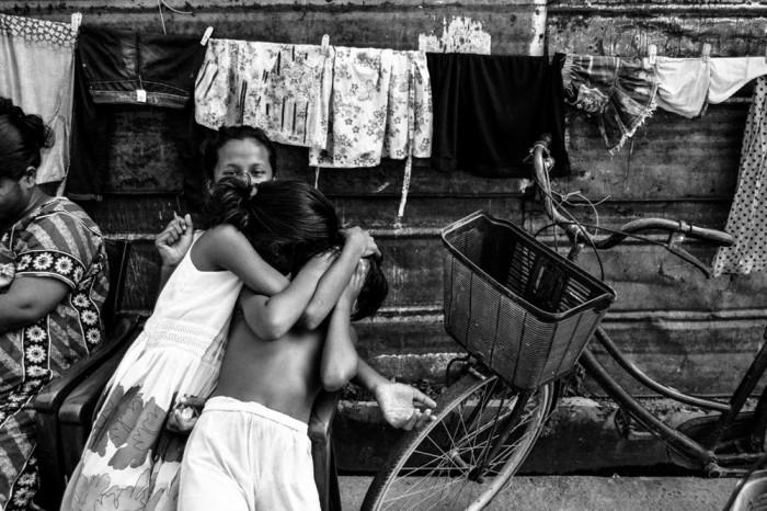 «Поцелуй в щёку». Автор фото: Марсел Колачек, Чехия.