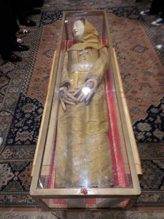 Мощи святой Марины прибыли в аэропорт Бейрута из Венеции, Италия. \ Фото: aman-alliance.org.