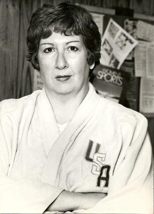 Первая женщина дзюдоистка. \ Фото: jwa.org.