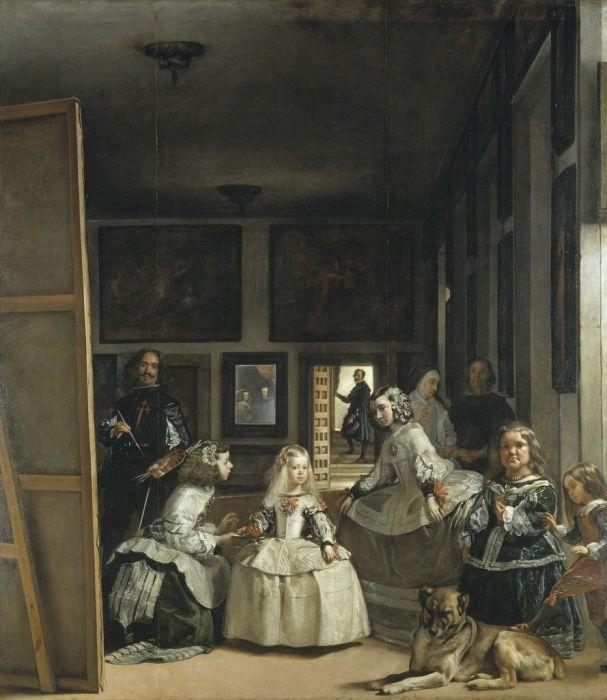 Диего Веласкес Менины, 1656 Национальный музей Прадо.