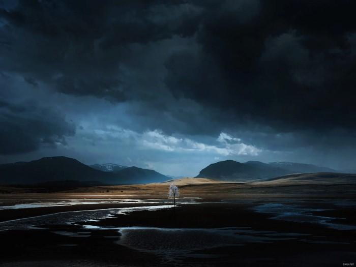 Ночь приближается. Автор: Barbara Florczyk.