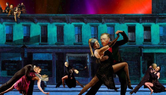 Танго субботним вечером. Автор: Barry Kite.
