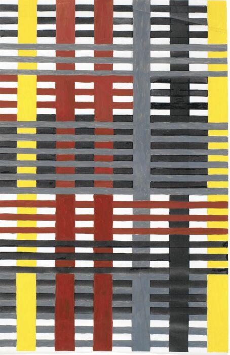 Авангардный текстиль Анни Альберс. \ Фото: tabletmag.com.