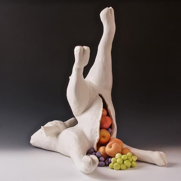 «Рог изобилия» (фарфор). Автор: Lorren Lowrey.
