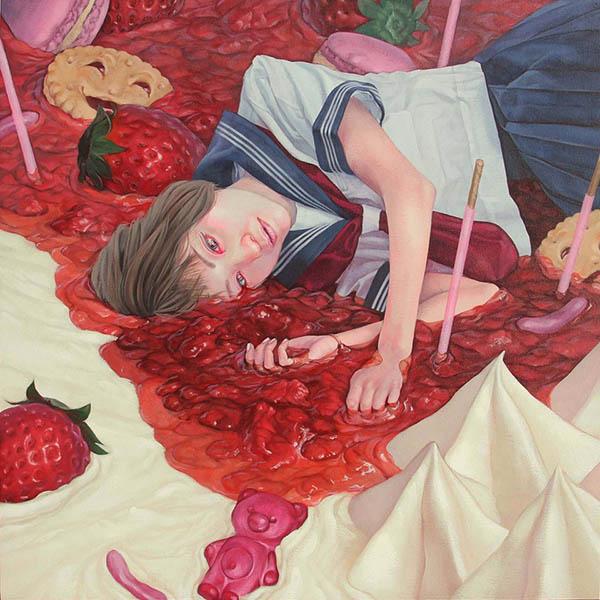 Клубника. Автор: Kazuhiro Hori.