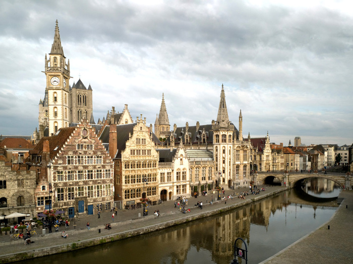 Гент. Бельгия.