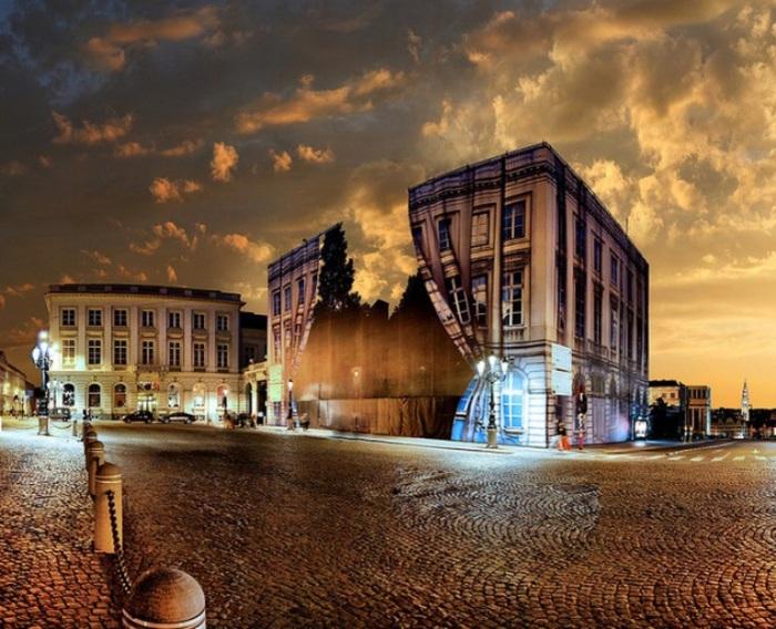 Музей Магритта в Брюсселе.