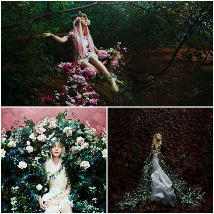 В сказочные времена, милые феи обитают в деревьях и цветах. Автор: Bella Kotak.