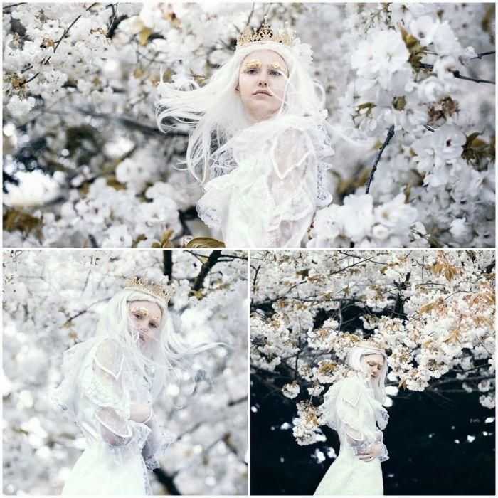 Ледяным ветрам никогда не заморозить мечты о весне. Автор: Bella Kotak.