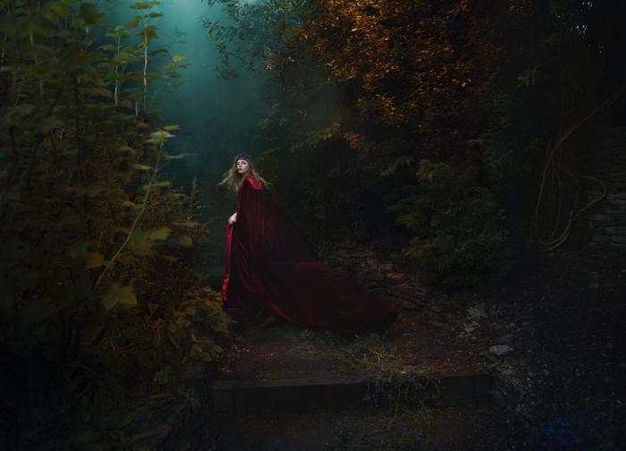 Волшебные миры. Побег лесной королевы. Автор фото: Bella Kotak.