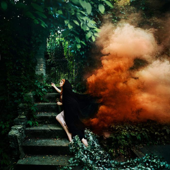 Волшебные миры. Пламенное сердце. Автор фото: Bella Kotak.