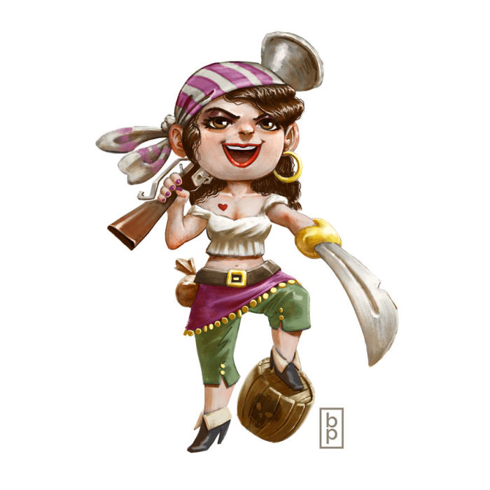 Пиратская добыча. Автор: Ben Pannell.
