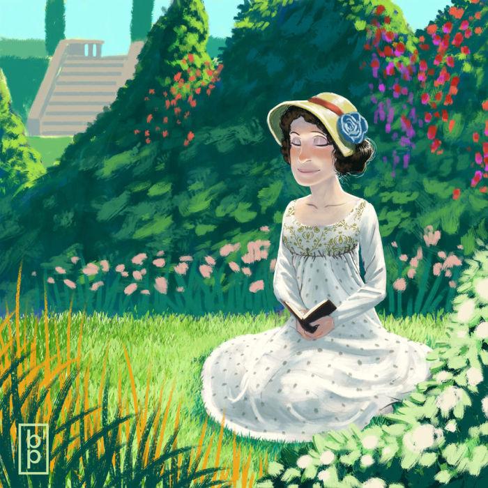 Английский сад. Автор: Ben Pannell.