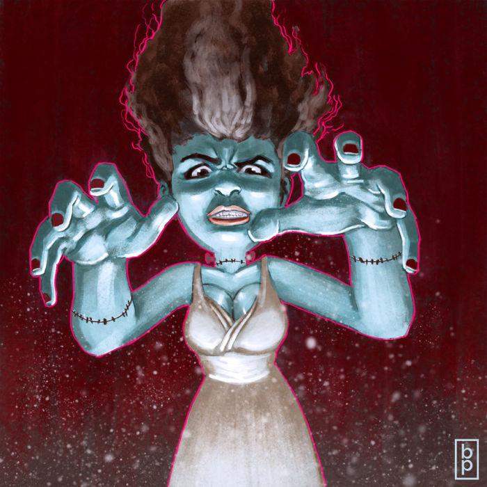 Монстр Святого Валентина. Автор: Ben Pannell.