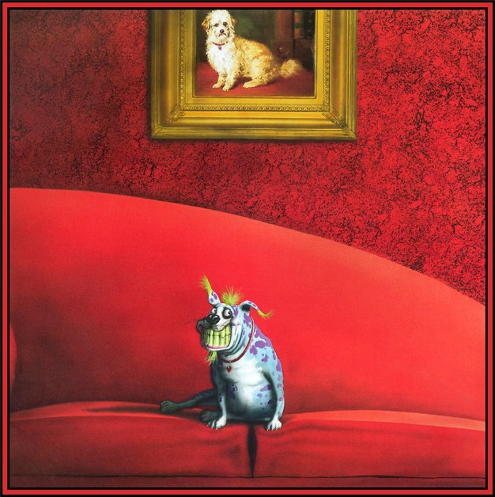 Такими вы их ещё не видели: Забавные портреты собак, что так похожи на людей