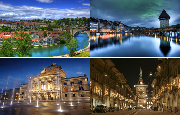По мнению Гете, Берн - самый красивый город.