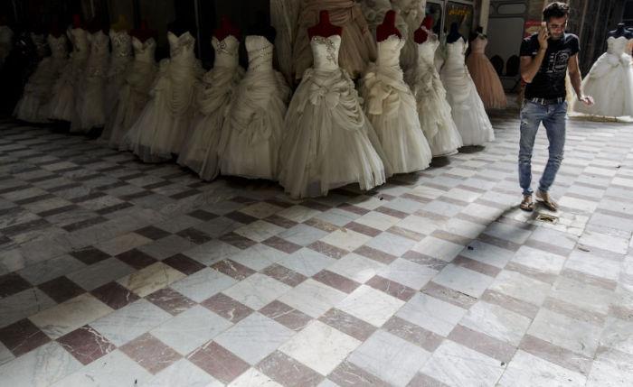 Свадебный салон в Исфахане. Автор фото: Бернард Руссо (Bernard Russo).