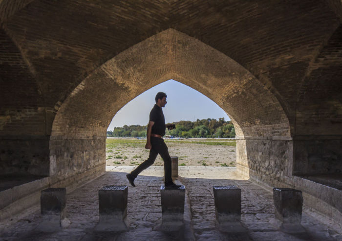 Исфахан. Автор фото: Бернард Руссо (Bernard Russo).