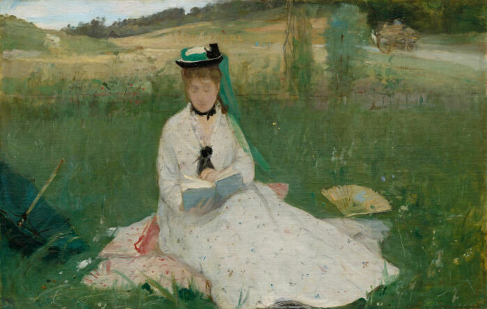 Чтение, Берта Моризо, 1873 год.  Фото: news.russellsaw.io.